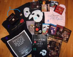 My Phantom Collection by HPAmortentiaLove