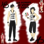 Kuroo Tetsurou in one of my outfits by 1049286