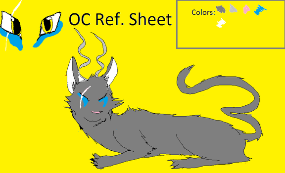 Shaile Reference Sheet by TheSpiritCatcher