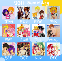 art summary 2011 by Ginechan