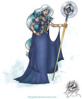 Aiza, the Storm Witch by andreshanti
