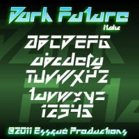 Dark Future Italic by Milomax27