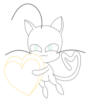 Plagg wip lineart by MikariStar