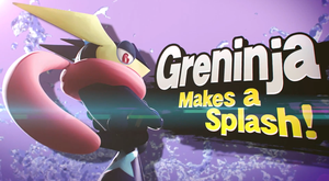 Super Smash Bros. Greninja Makes Splash! by Sydraxe