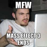 My original reaction to ME 3's ending. by Thefallout96