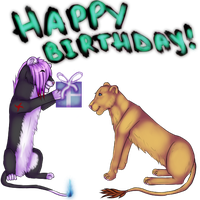 Happy B-day! by May-Ly