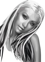 First Vexel- Christina Aguilera 2006 by fabulosity