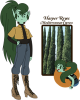 Conifer Citizen Contest: Harper by TheCupcake-Queen