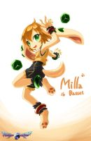 Freedom Planet 2 - Milla Basset Fan art by AnRock3