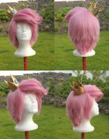 Prince Gumball Wig Commission by RHatake