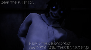 MMD Model: Jeff the killer 3.2 DL by Toto-is-bored