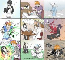 9 Bleach Topics -colored- by BleachcakeCosplay