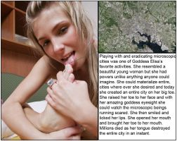 Sheer Insignificance 3: Micro City Licked Away by youranus32