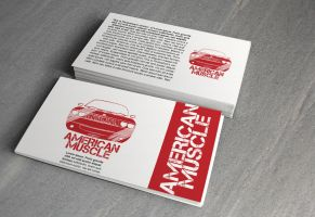 American Muscle (ID Card) MOCK-UP by SALAM-SOL
