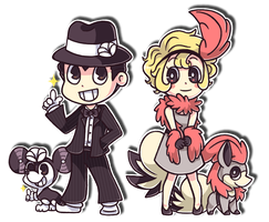 Zoot Suits and Flappers by spiffychicken