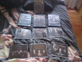 My Twilight DVDs + Soundtracks by Horsey-Luver450