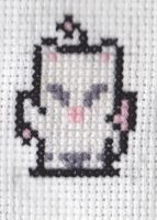 Mog the Moogle Cross Stitch by RetroStitch