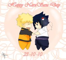 Happy NaruSasu Day by canary-309