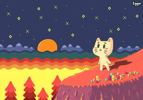Kitty Dreamland by 1gga