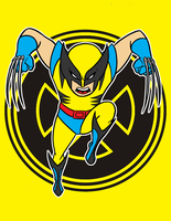 wolverine 2nd appearence by AlanSchell