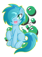 Mint bubbles by DANMAKUMAN