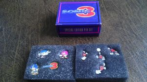 Sonic 3 Pin Set Special Edition by spaceman022