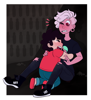SU: Lars you're alive! by sariasong64