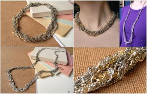 Chain Necklace DIY by Madizzo