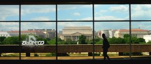 National Mall from Hirshorn by abentco