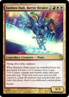 Rainbow Dash, Barrier Breaker by rowcla