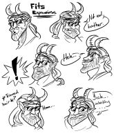 Fits Expressions by TheChinesePalmTree