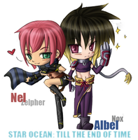 Star Ocean - Nel x Albel by kirimasu
