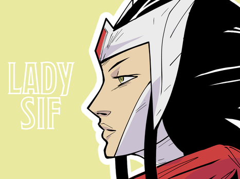 Lady Sif by wildcats25