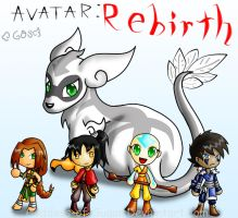 Avatar: Rebirth Chibi-it-Up by Goddess-Of-Sugar