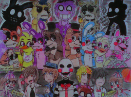 ..::five night at freddy's::.. by gloriapainthtf