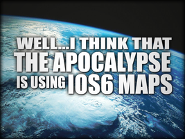 Well I think that the apocalypse is using IOS6 map by raikouto