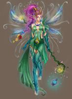 queen of fairies by Trassnick
