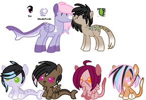 MLP Breedable: Kendall and OC -CLOSED- by ChopstickGirl241
