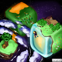 [Minecraft] Server worlds! by ellielza