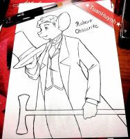 My OC character : Mr Robert Obscurite by doraemonbasil