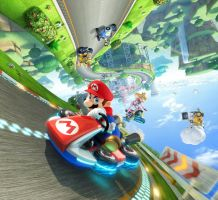 Mario Kart 8 Wallpaper by DryBowzillaJP
