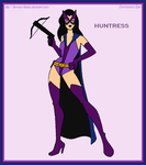 Commission - Huntress, The Brave and The Bold by Femmes-Fatales