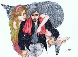 king and queen of spades by bloodlust-katana