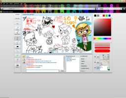 Iscribble Dump Day by 2-DimensionalNerd
