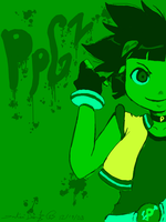 Green: PPGZ by inuyashasno1girl