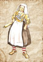Maggie- the Pirate Cook by Fuchsia-Groan
