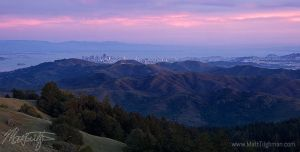 San Francisco from Mount Tam by MattTilghman
