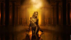 The Egyptian Princess by experiment-iv