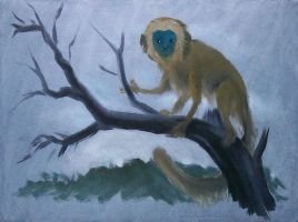 Monkey by whalewithlegs
