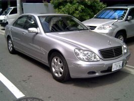 Benz S320L 2003 silver by sniperbytes